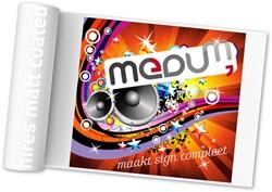 Medum 11740 hires matt coated paper 140g/m². 30m x 610mm