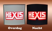 Hexis Block Out Wit mat 1230mm-2