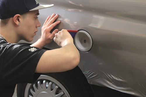 Cursus gevorderden - Chrome Wrapping 17 mei