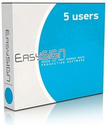 EasySIGN Abonnement Master 5-user netwerk (1 jaar)