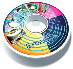 EasySIGN Media Template & Clipart Library DVD