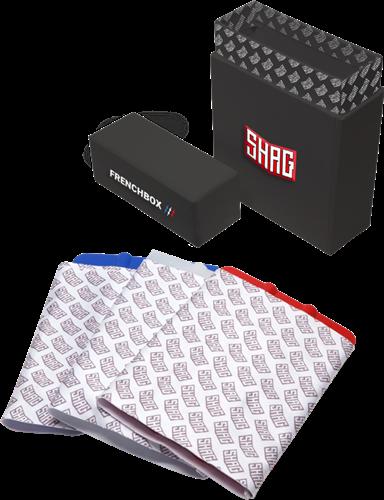 SHAG Beschermdoos met drie squeegees en squeegee beschermers
