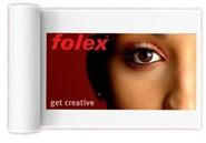 Folex  Folajet witte polyesterfilm 160µ 91,4 x 50m