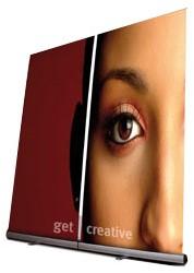 Folex SI135 economy PP rollup film, 230µm, wit, grijze rug 4