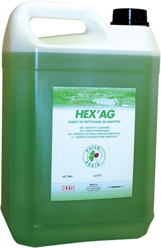 HEX'AG Anti-graffiti cleaning liquid, 5 liter