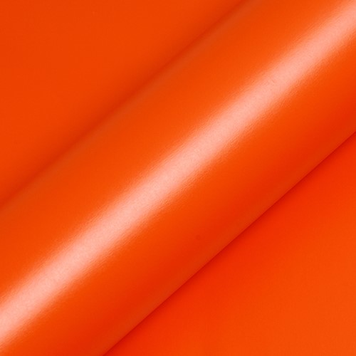 Hexis Skintac HX20165M Mandarin Red matt 1520mm rol van 4 str.m.