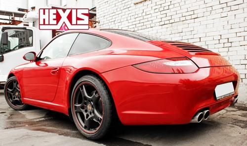 Hexis Skintac HX20200B Helder kardinaal rood glans 1520mm-1