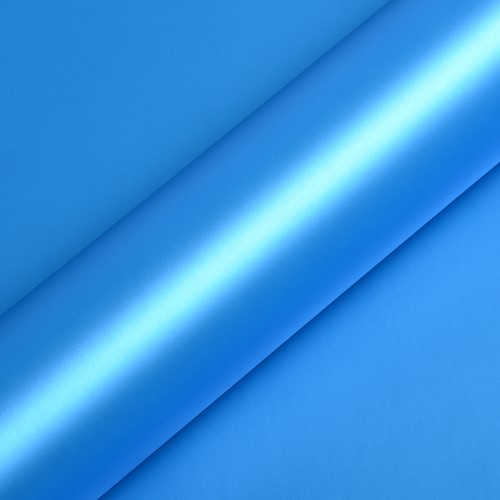 Hexis Skintac HX20219S Ara Blue Metallic satin 1520mm rol van 25 str.m.