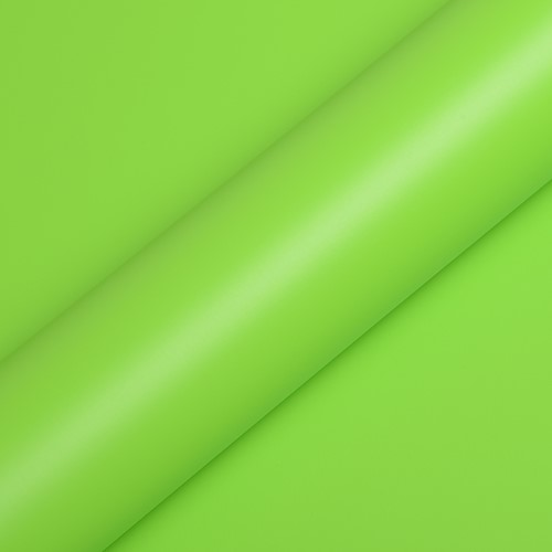 Hexis Skintac HX20266S Acid Green satin 1520mm rol van 19,9 str.m.