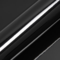 Hexis Skintac HX20889B Houtskool zwart glans 1520mm rol van 0,94 str.m.