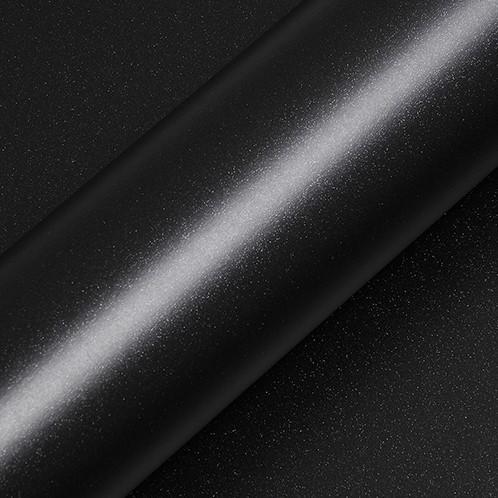 Hexis Skintac HX20NEPM Zwart Sparkle Mat 1520mm