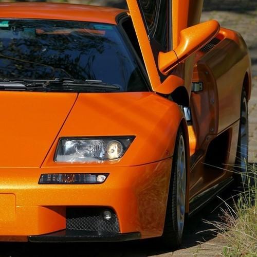 Hexis Skintac HX20OAUB Aurora oranje glans 1520mm-1