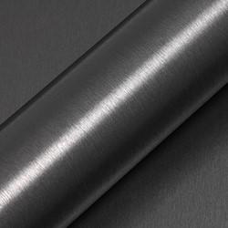 Hexis Skintac HX30BAGANB Geborsteld alu antraciet 1520mm rol van 2,60