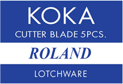 KOKA 45° Reservemes t.b.v. Roland snijplotters (ZEC A1003)