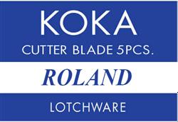 KOKA 60° Reservemes t.b.v. Roland snijplotters (ZEC A3050)