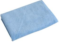Blauwe premium microvezeldoek