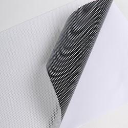 Hexis MICRO1 Polymeer microgeperforeerde printmedia 30m x 1050mm