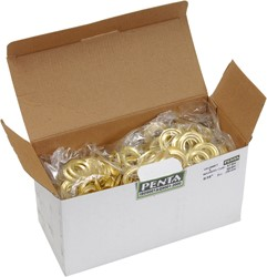 Eyelet ring koper 15 per 250 st