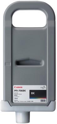 Canon 700 ml inkt cassette Black PFI-706BK
