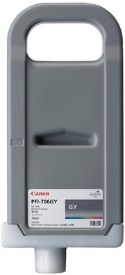 Canon 700 ml inkt cassette Grey PFI-706GY