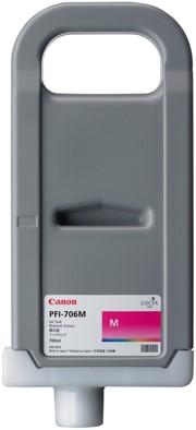 Canon 700 ml inkt cassette Magenta PFI-706M