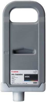 Canon 700 ml inkt cassette Matte Black PFI-706MBK