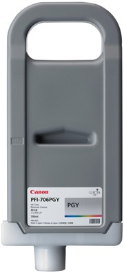 Canon 700 ml inkt cassette Photo Grey PFI-706PGY