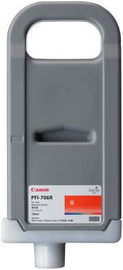 Canon 700 ml inkt cassette Red PFI-706R