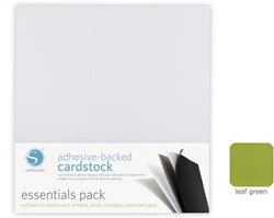 Leaf Green Adhesive-Backed Cardstock 25-pack