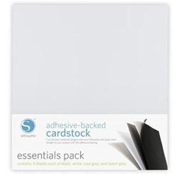 Essentials 12x12 Adhesive Cardstock 16-pack