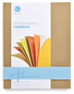 Adhesive-backed Cardstock Autumn (16 sheets)