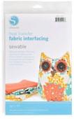 Fabric interfacing Sewable (431 x 914 mm)