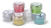 Silhouette Glitter-Assorted Essential Colors, 20ml jars