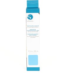 Silhouette Flex Heat transfer 30,5cm x 0,9m Light Blue