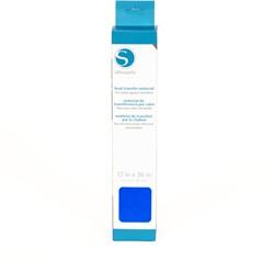 Silhouette Flex Heat transfer 30,5cm x 0,9m Neon Blue