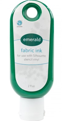 Silhouette Fabric Ink 59cc Emerald