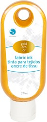 Silhouette Fabric Ink 59cc Gold