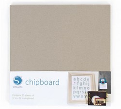 Silhouette Chipboard (25 sheets)