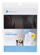 Silhouette Adhesive Magnet Paper, 4-pack