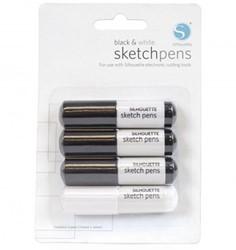 Silhouette Sketch Pen - Black and white