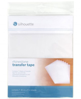 Silhouette Rhinestone Transfer Tape (7 sheets)