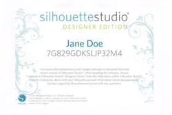 Silhouette Studio®Scratch Card voorDesigner Edition