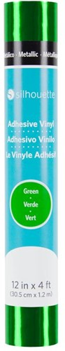 Silhouette Vinyl Permanent Glossy 30,5cm x 1,2m Metallic Green