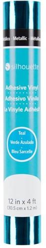 Silhouette Vinyl Permanent Glossy 30,5cm x 1,2m Metallic Teal