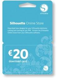 Silhouette €20 download code-digitaal