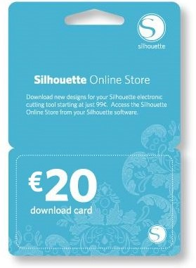 Silhouette €20 Download Card