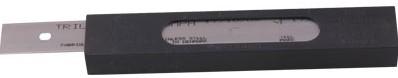 Triumph 150mm roestvrij staal reservemessen 25st./dispenser