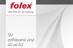 Folex SIV zelfklevend vinyl 40 vel A3