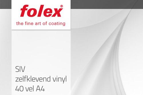 Folex SIV zelfklevend vinyl 40 vel A4