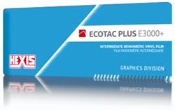 Kleurenwaaier Hexis Ecotac E3000+ serie Swatchbook
